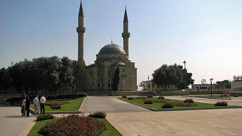 Mešita v Baku