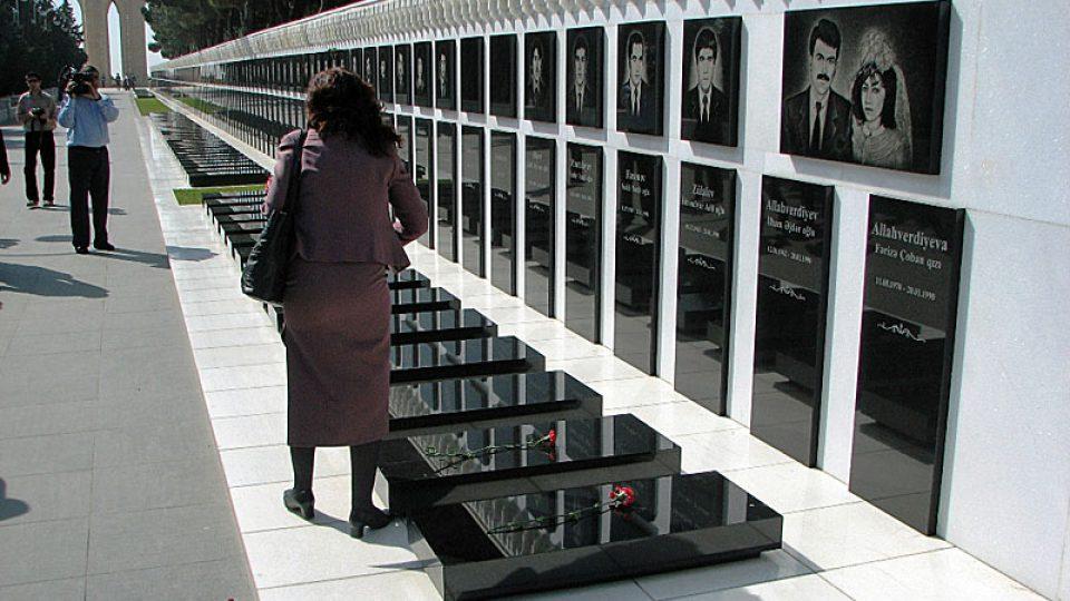 Pomník obětem Černého ledna 1990