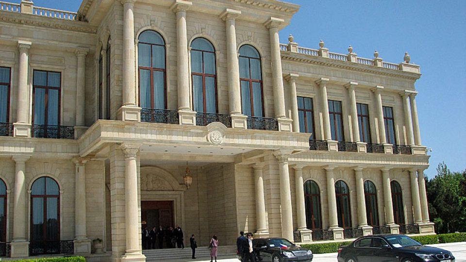 Sídlo ázerbájdžánského prezidenta