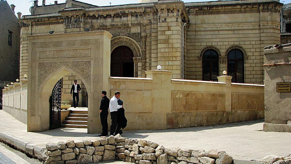 Historická část Baku