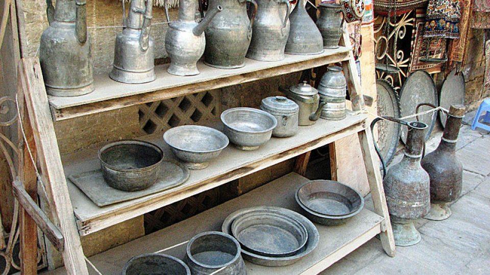 Tradiční ázerbájdžánské nádobí