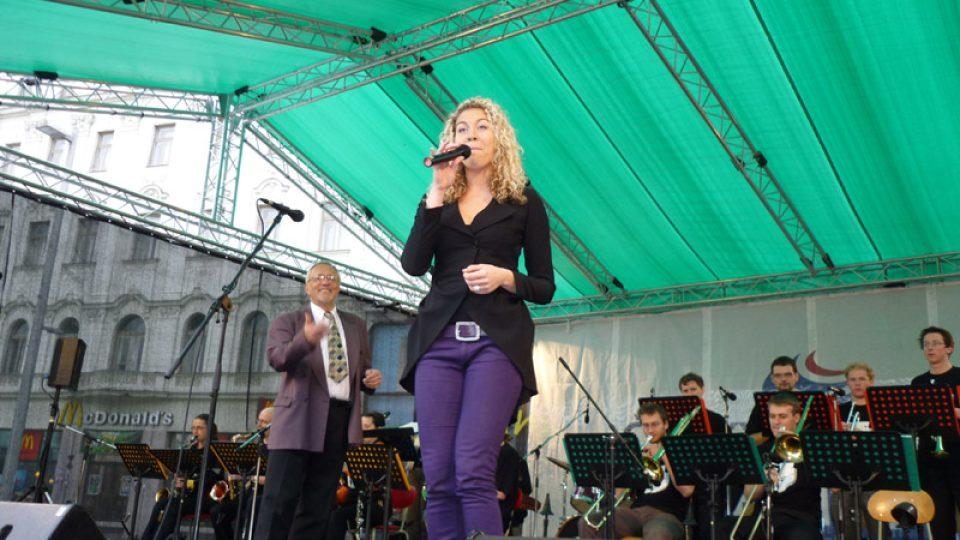 Koncert zakončil Bigband ze Smetanky