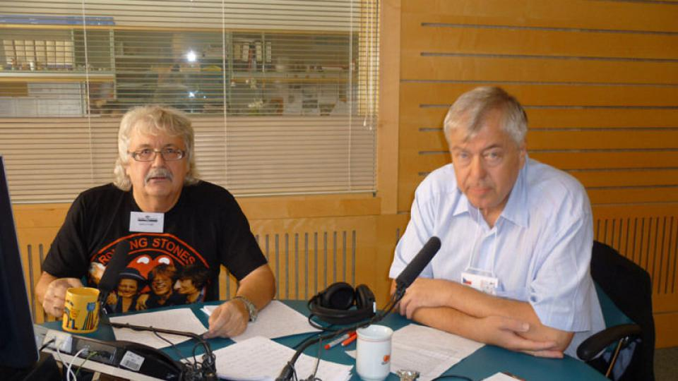 Starobrněnské kolo s Jindrou Eliášem a Vítězslavem Koudelkou
