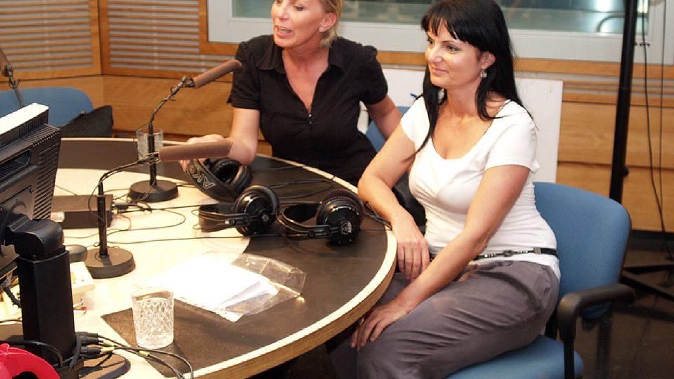 Kateřina Kornová a Simona Součková
