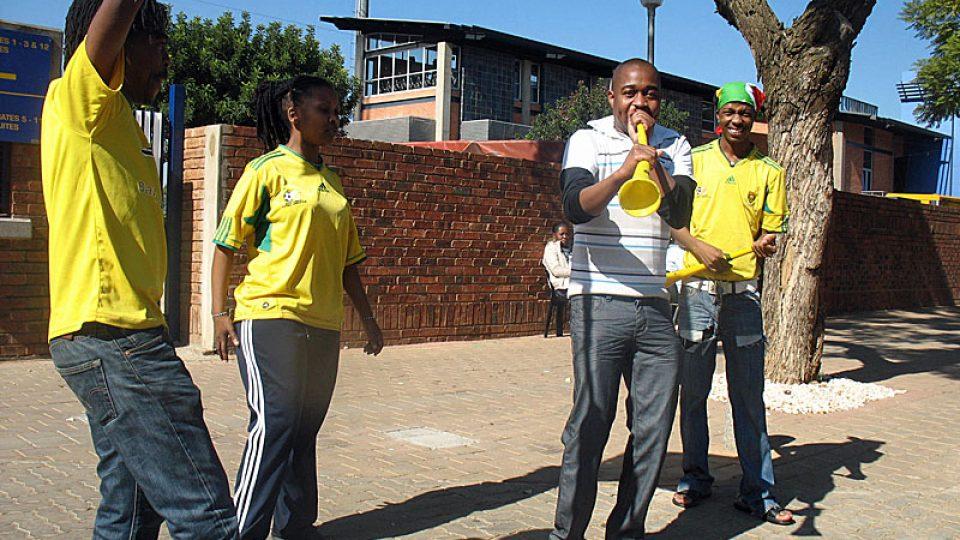 Vuvuzela se stala symbolem