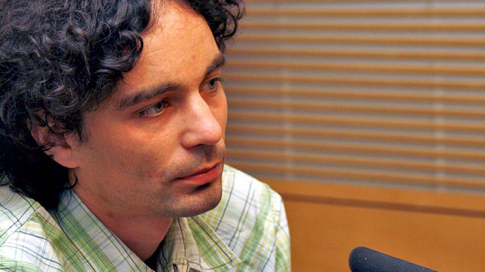 Novinář a balkanolog Martin Ježek