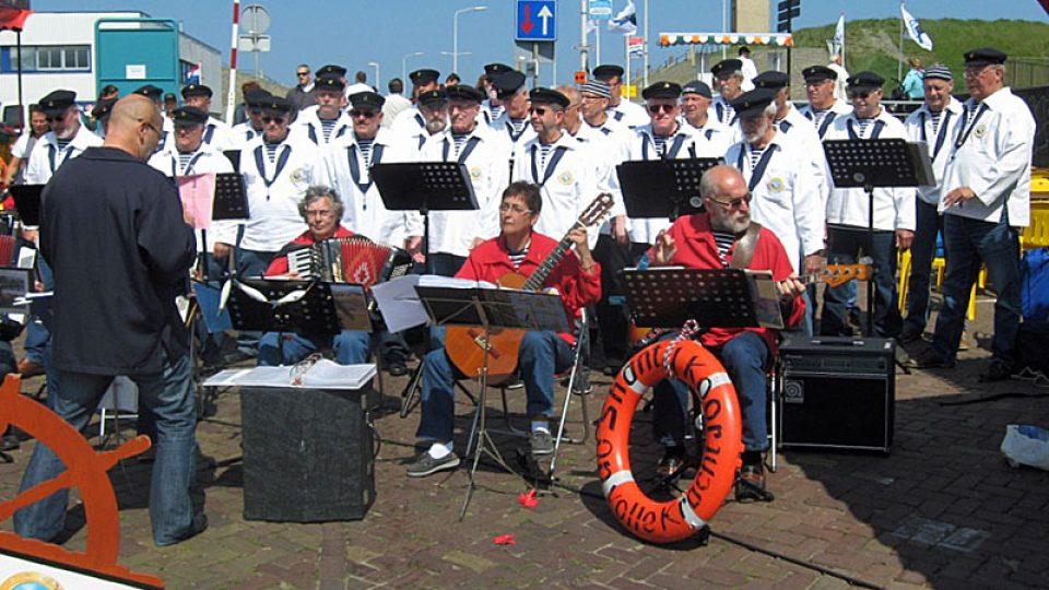 Přístavní kapela v Scheveningenu