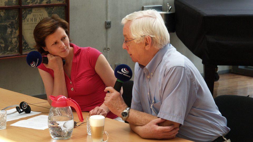 Zuzana Burešová a Rudolf Chmel