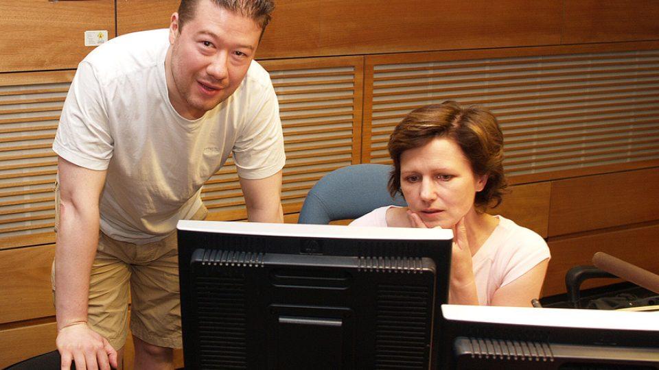 Tomio Okamura a Zuzana Burešová