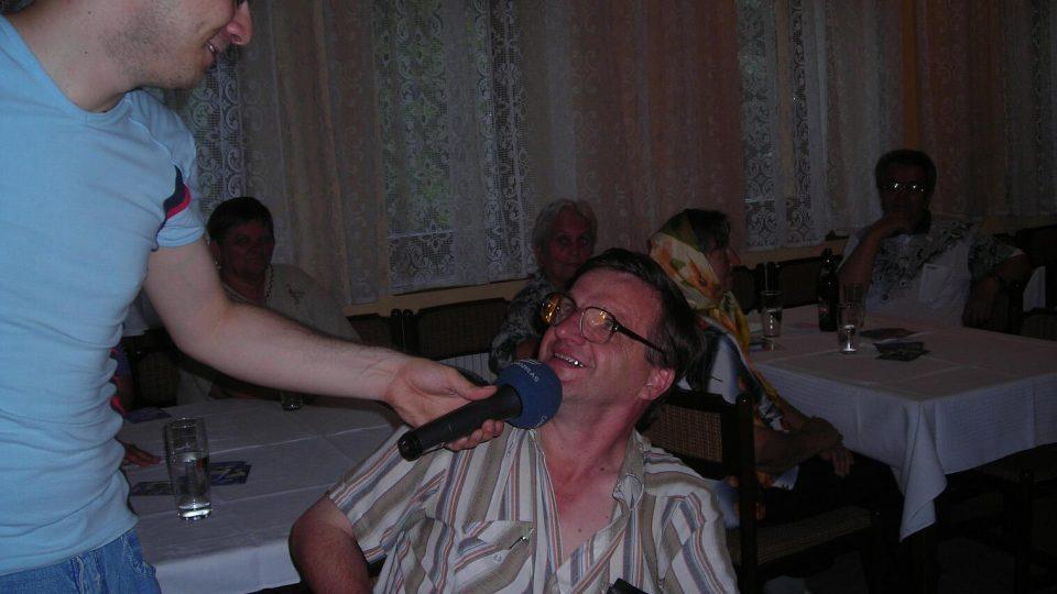 Náš rozhlasový tým v Červeném Kostelci