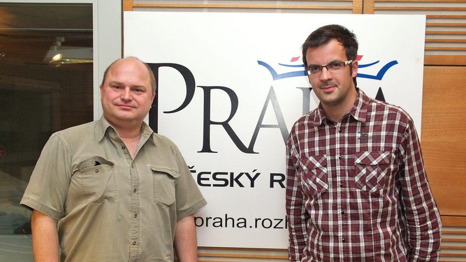 Vít Vlnas a Tomáš Voženílek
