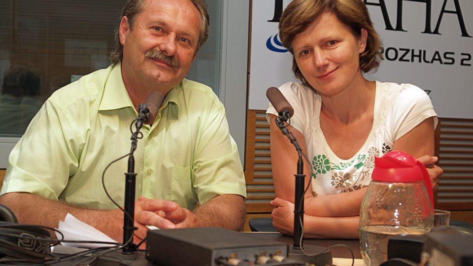 Jiří Janků a Zuzana Burešová