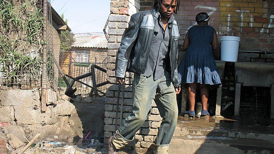 Veřejná umývárna v Sowetu