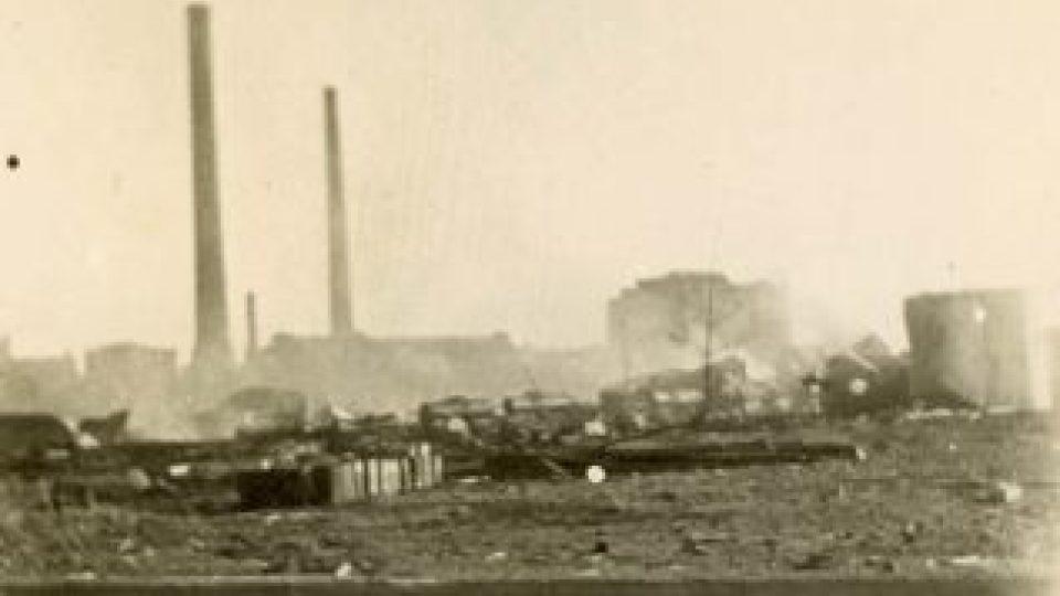 Nálet na Pardubice 24.8.1944 - Fantova rafinérie