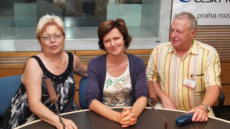 Alena Klempířová, Zuzana Burešová, Jaroslav Klempíř