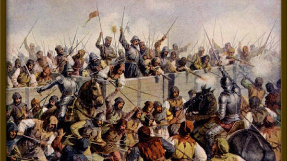 Bitva u Lipan (1434), které se na vítězné straně zúčastnil i Diviš Bořek z Miletínka