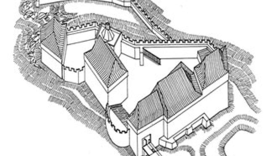 Hrotová rekonstrukce hradu Sion, poslední bašty hustů