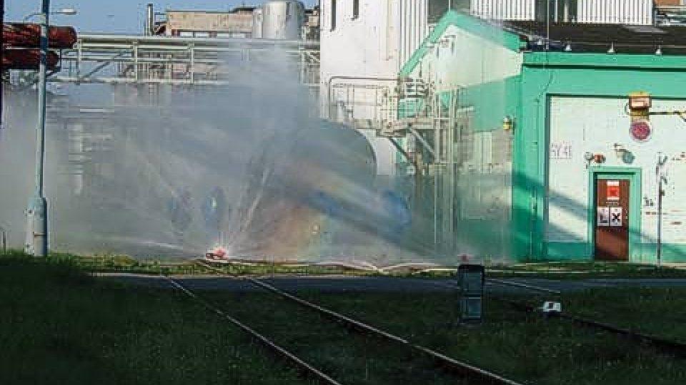 Likvidace chemické havárie v Synthesii