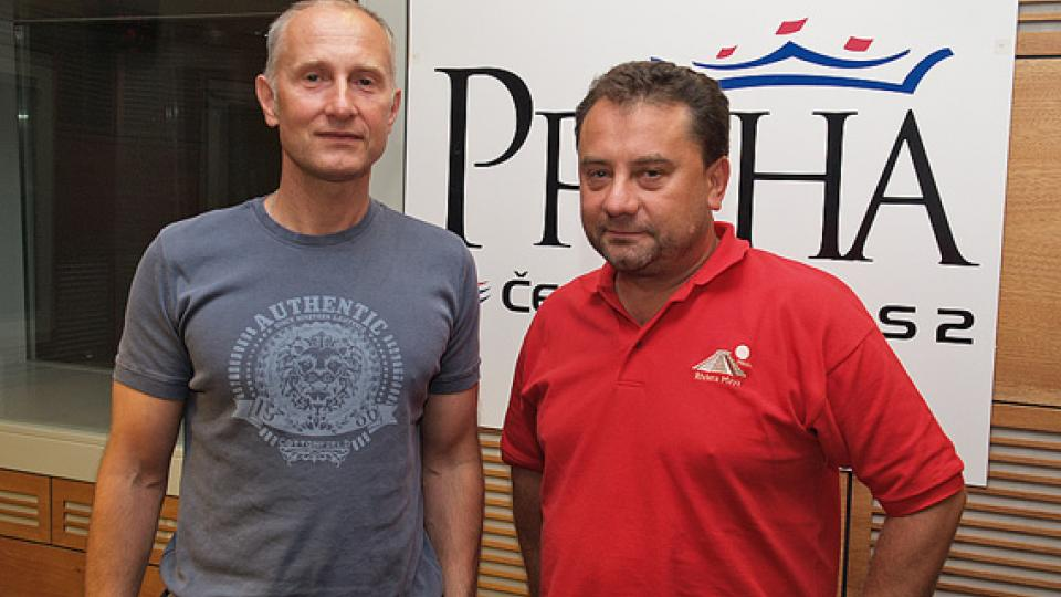 Josef Carda a Vladimír Kroc