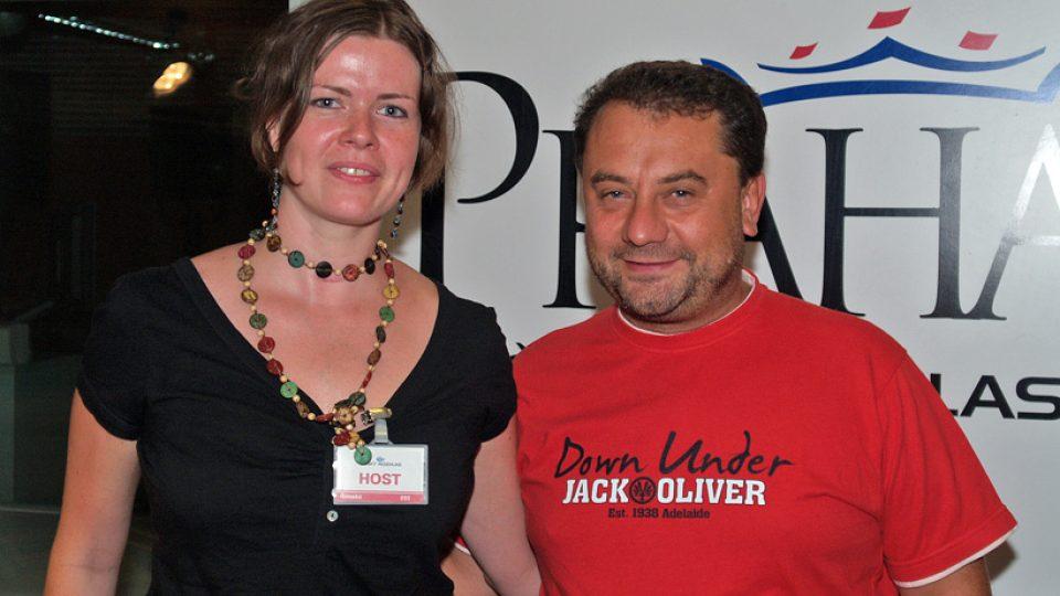 Pavla Dagsson Waldhauserová a Vladimír Kroc