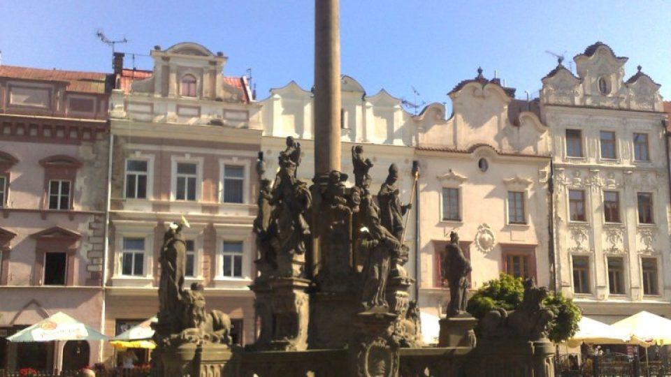 Mariánský sloup na Pernštýnském náměstí