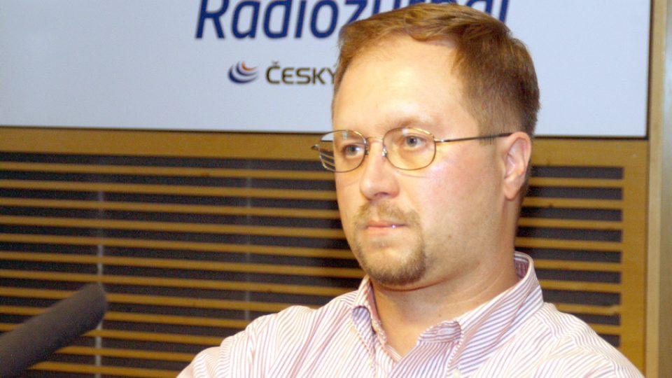 Ředitel Občanského institutu a nový poradce premiéra Roman Joch