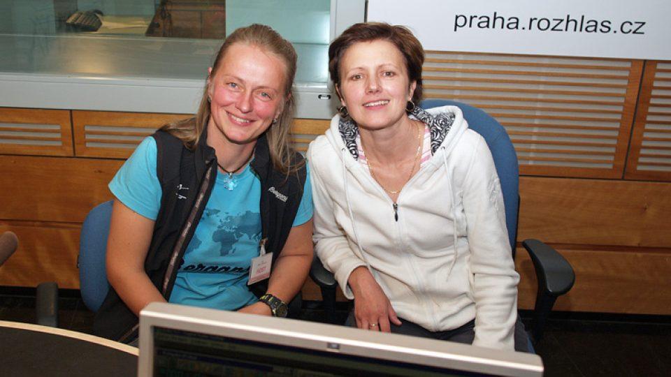 Jana Henychová a Zuzana Burešová