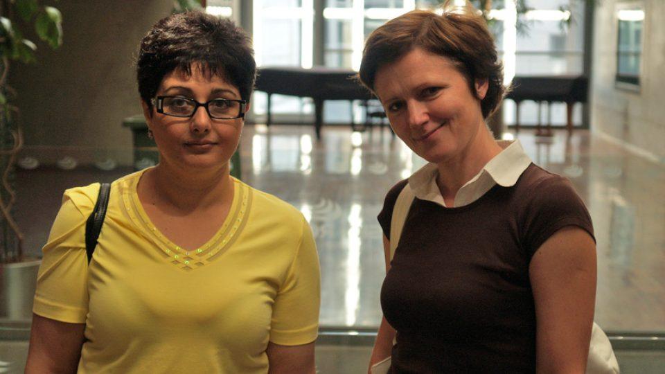 Věra Amlerová a Zuzana Burešová