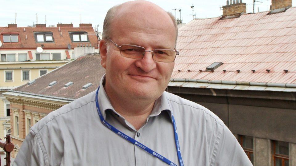 Daniel Herman před studiem RW