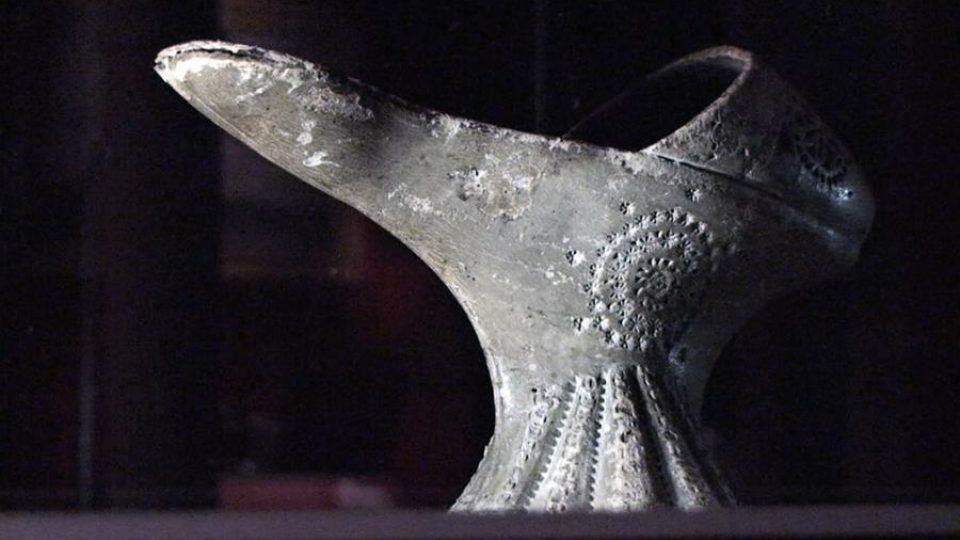 Renesanční bota zvaná chopine