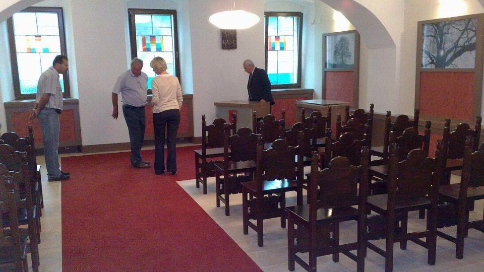Nová radnice v Týništi nad Orlicí