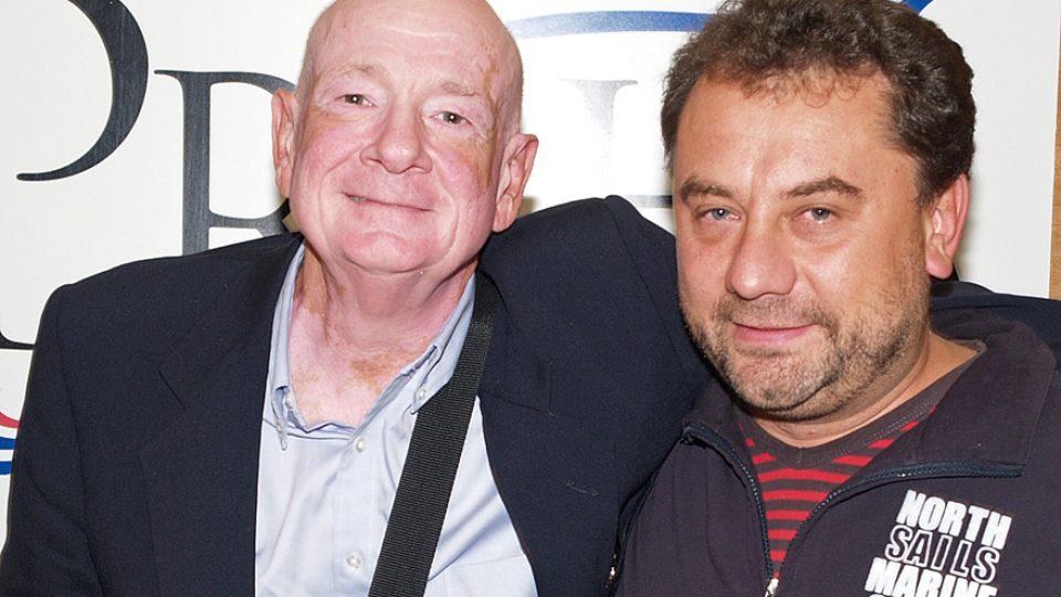 Raymond Moody a Vladimír Kroc