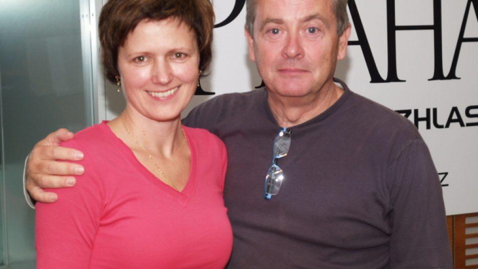 Alexander Hemala a Zuzana burešová společné foto