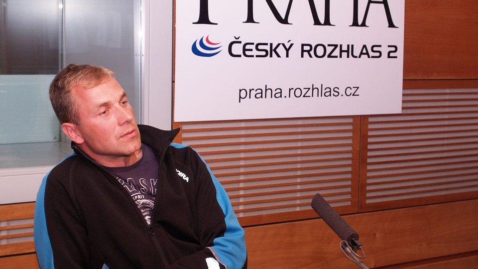 Martin Šonka ve studiu CRo 2 - Praha