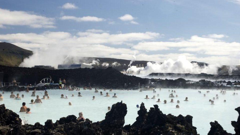 Geotermální energii na Islandu