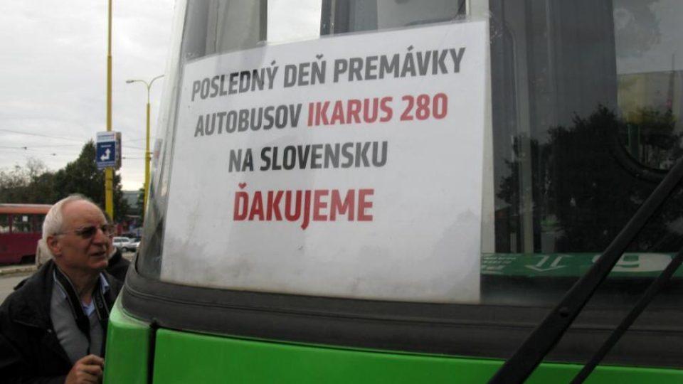 Ikarusům na Slovensku odzvonilo