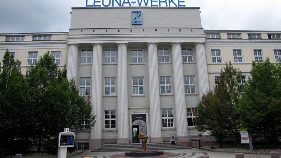 Chemické závody v německém městě Leuna