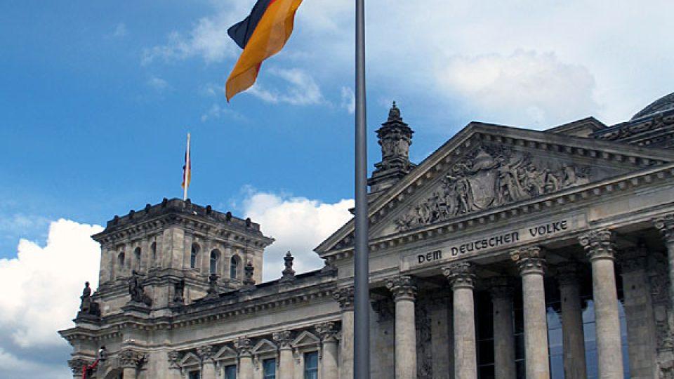 Bundestag v Berlíně