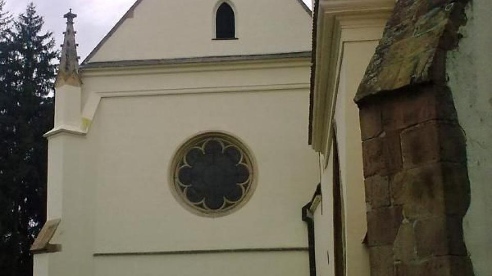 Klášterní kostel Nanebevzetí Panny Marie je nejstarší stavbou v celém areálu kláštera Porta coeli