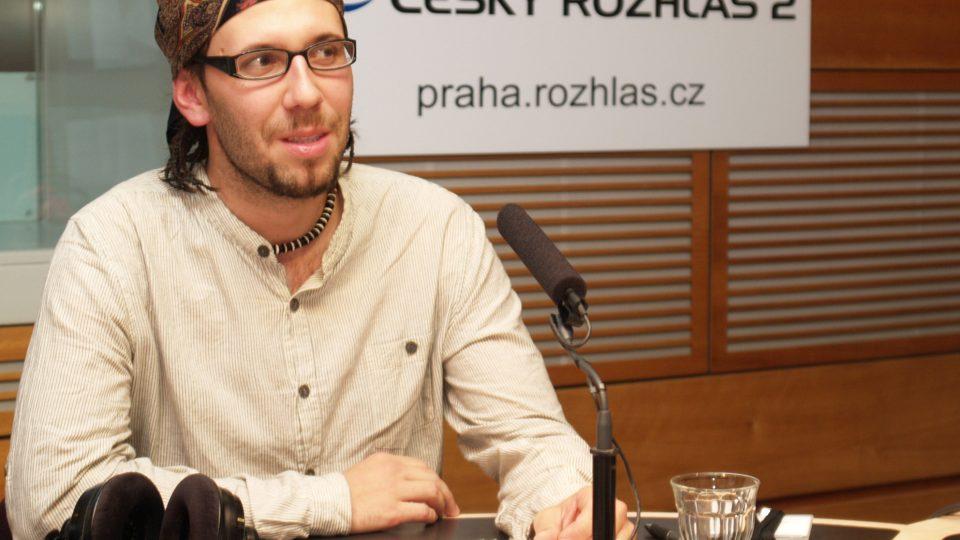 Jan Svatoš ve studiu Čro 2 - Praha