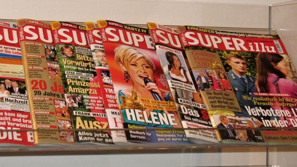 Německý časopis Superillu
