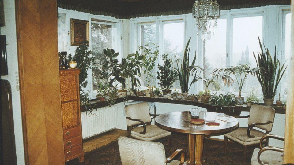 12. Eliášova vil: zimní zahrada