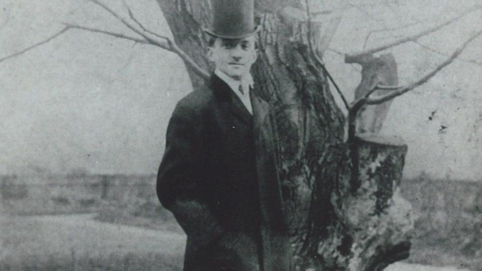 18. Alois Eliáš jako maturant