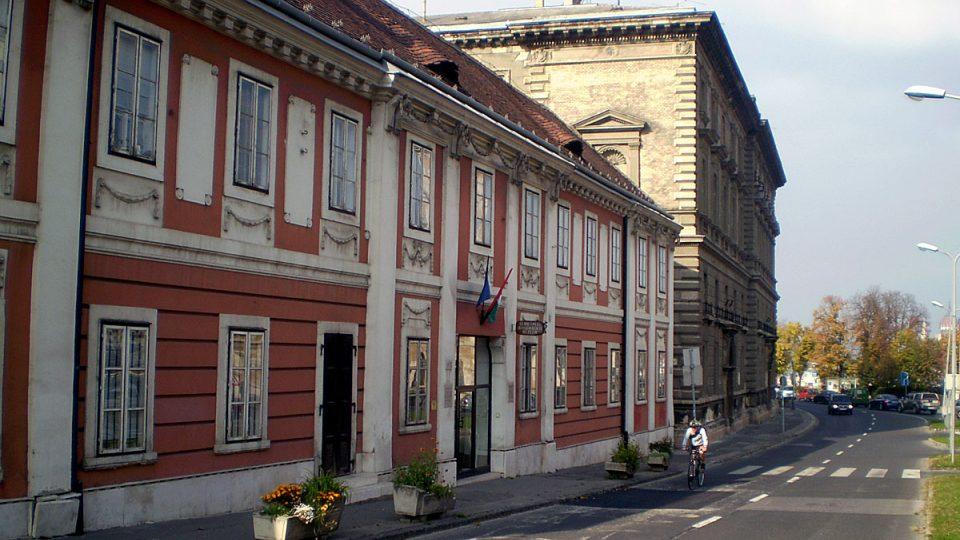 Budova Muzea dějin medicíny v Budapešti
