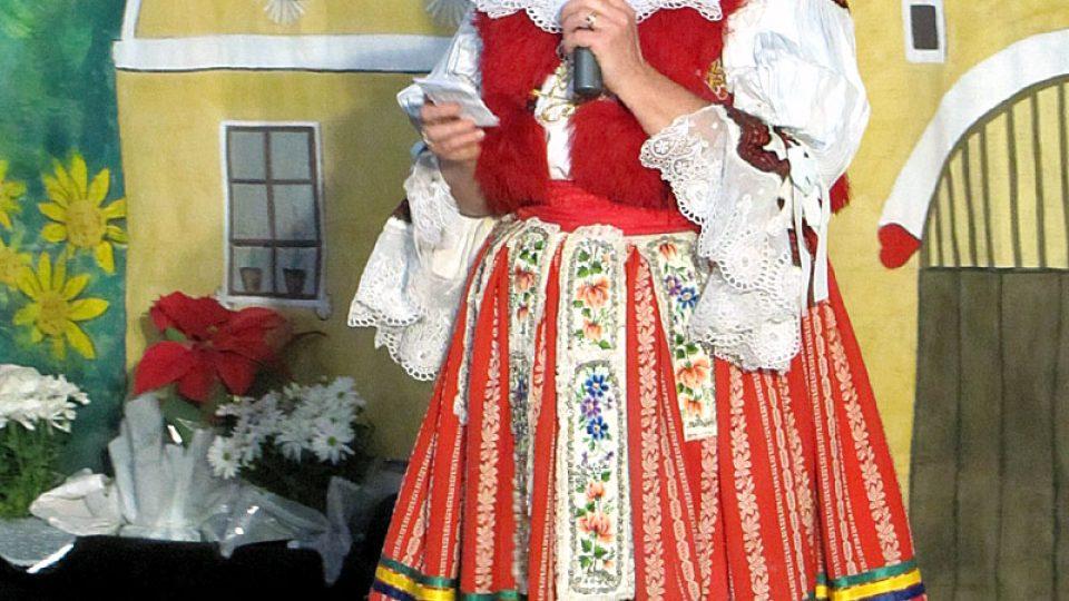 Vedoucí spolku Slávie Dagmar Štruncová Fernandes