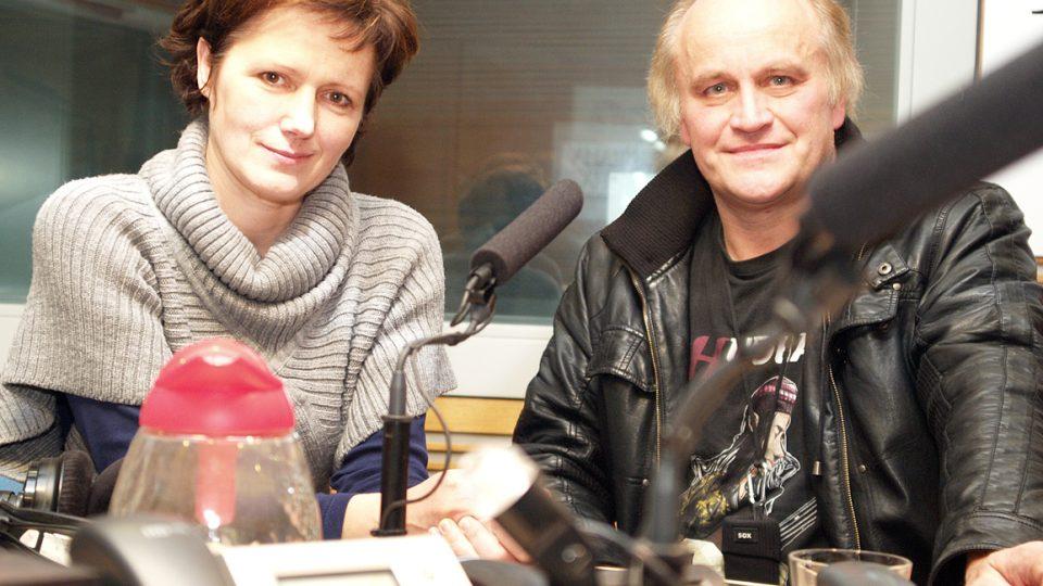 Michael Kocáb a Zuzana Burešová