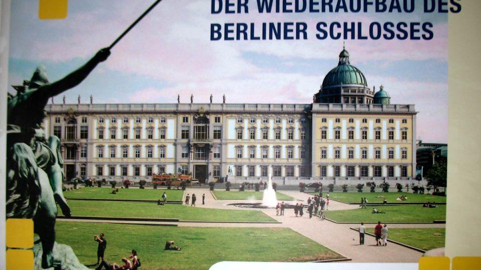 Plány počítají se znovuvybudováním berlínského zámku během několika příštích let