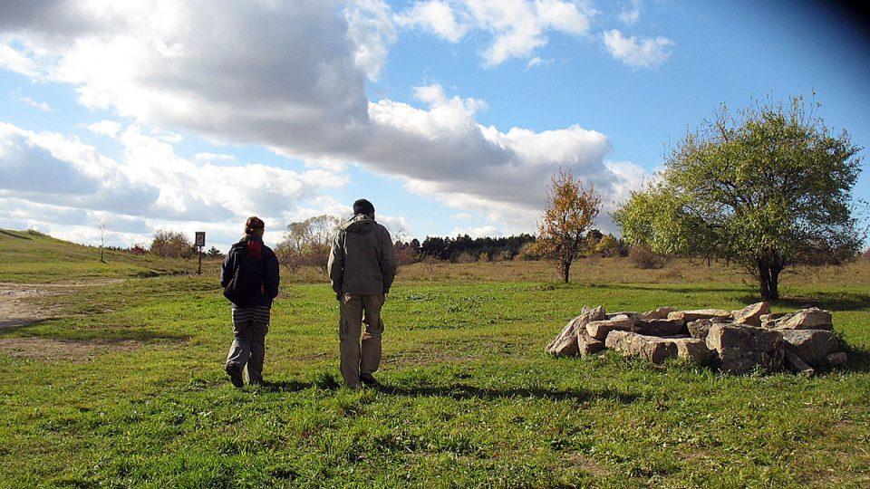 Ivana a Michael se vracejí ke svému stádu v Národním parku Podyjí