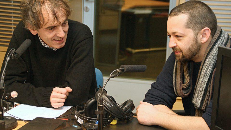 Karel Strachota a Adam Drda byli hosty Radiožurnálu v den 21. výročí sametové revoluce