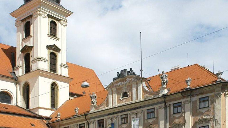 Místodržitelský palác je jednou z architektonicky nejpozoruhodnějších barokních budov města Brna